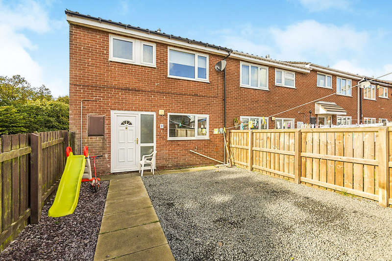 3 Bedrooms Terraced House for sale in Bronte Place, Stanley, DH9