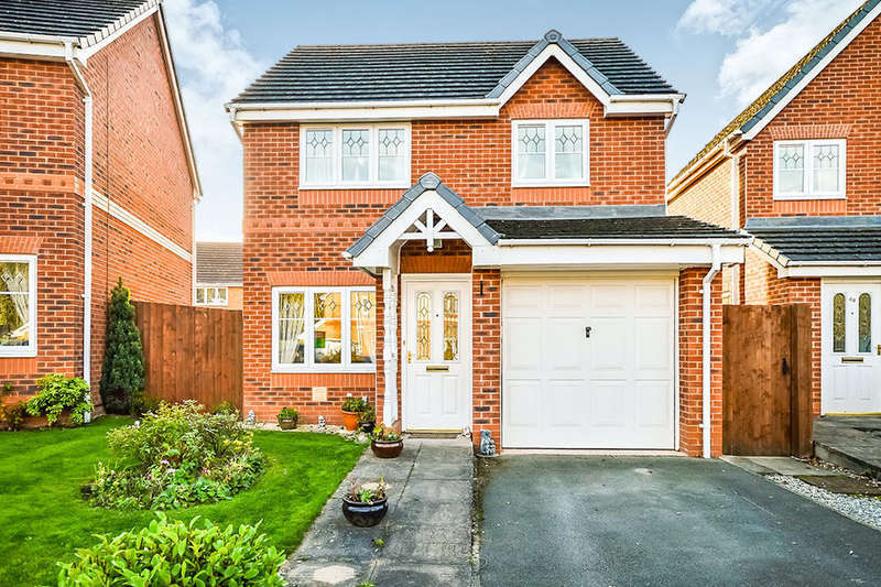 3 Bedrooms Detached House for sale in Henley Drive, Oswestry, SY11