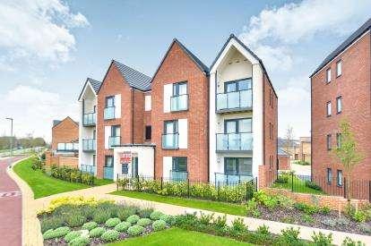 2 Bedrooms Flat for sale in Vespasian Road, Fairfields, Milton Keynes, Bucks