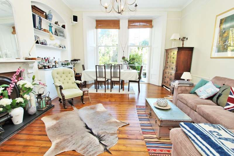 2 Bedrooms Maisonette Flat for sale in Abbeville Road, London, SW4