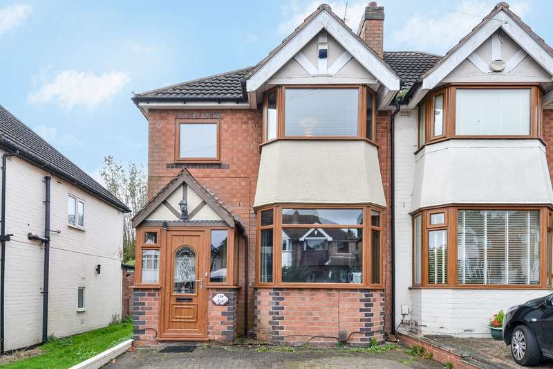 3 Bedrooms Semi Detached House for sale in Farren Road, Northfield, Birmingham, B31