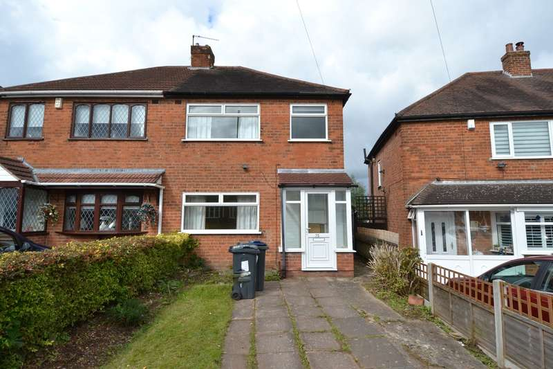3 Bedrooms Semi Detached House for sale in Dowar Road, Rednal, Birmingham, B45