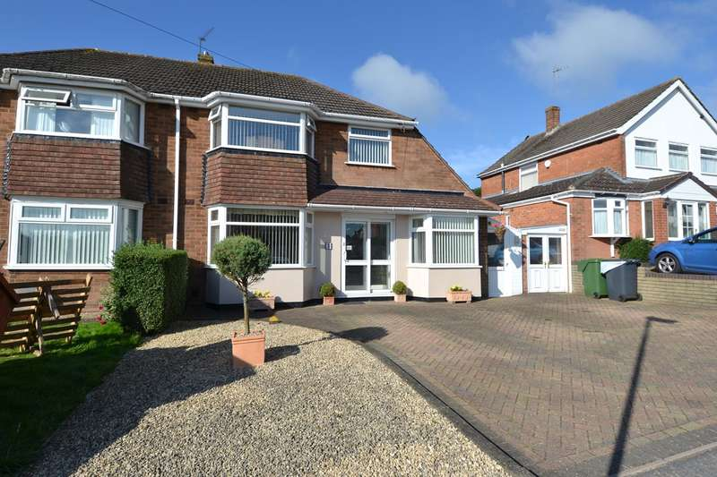 3 Bedrooms Semi Detached House for sale in Clent Road, Rednal, Birmingham, B45