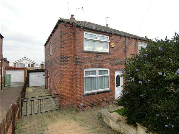 3 Bedrooms Semi Detached House for sale in Leysholme Drive, Wortley, Leeds