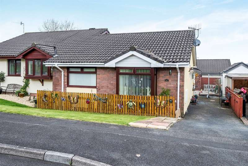 2 Bedrooms Semi Detached Bungalow for sale in Lon Brynawel, Llansamlet, SWANSEA