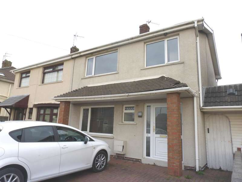 3 Bedrooms Semi Detached House for sale in Bower Street, Kenfig Hill