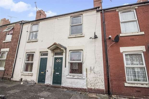 2 Bedrooms Terraced House for sale in Grosvenor Road, Rotherham, South Yorkshire