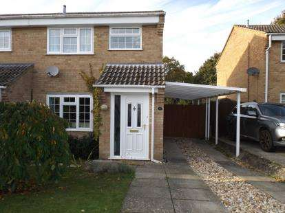 3 Bedrooms Semi Detached House for sale in Blackfield, Southampton, Hampshire