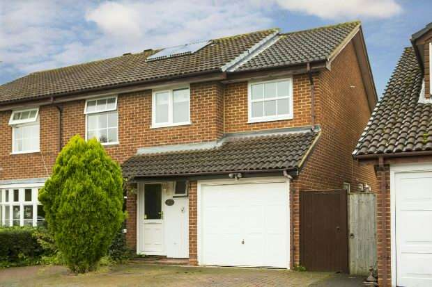 5 Bedrooms Semi Detached House for sale in Doddington Close, Lower Earley, Reading