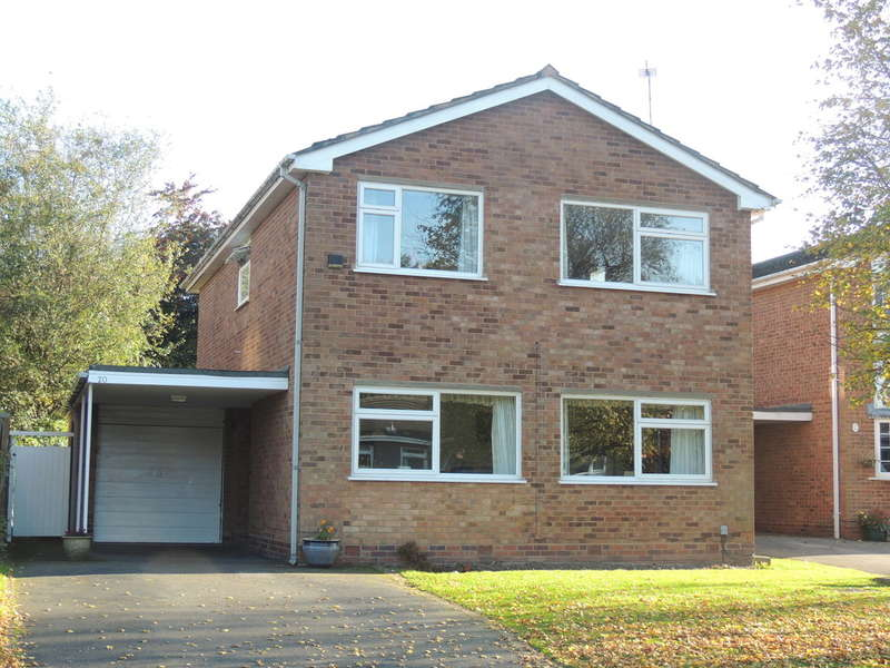 4 Bedrooms Detached House for sale in Alveston Grove, Knowle, Solihull
