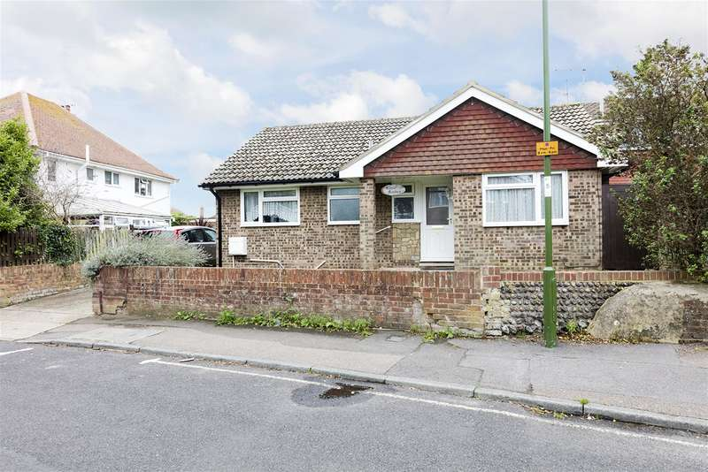 2 Bedrooms Detached Bungalow for sale in Elm Grove, Lancing, West Sussex, BN15 8PD