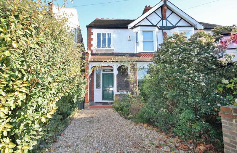 3 Bedrooms Semi Detached House for sale in Malden Hill Gardens, New Malden