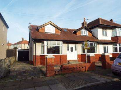 3 Bedrooms Semi Detached House for sale in Valeway Avenue, Thornton-Cleveleys, Lancashire, FY5