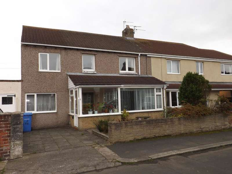 5 Bedrooms Semi Detached House for sale in Bisley Road, Amble, Morpeth, Northumberland, NE65 0NW