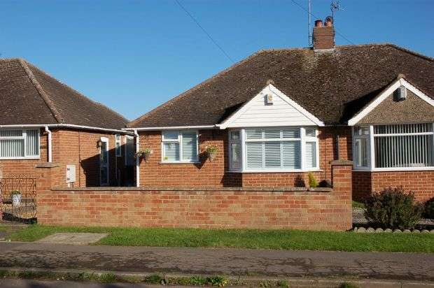 2 Bedrooms Semi Detached Bungalow for sale in Harvey Lane, Moulton, Northampton NN3 7RB