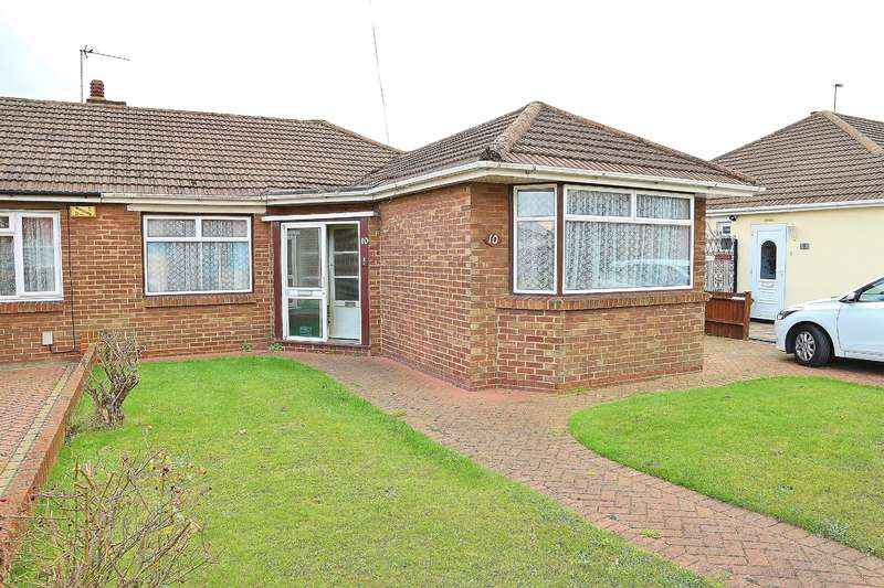 3 Bedrooms Semi Detached Bungalow for sale in Rudland Road, Bexleyheath, Kent , DA7 6DD