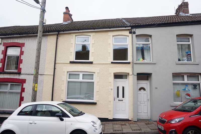 3 Bedrooms Terraced House for sale in Elm Street, Aberbargoed, Bargoed, CF81