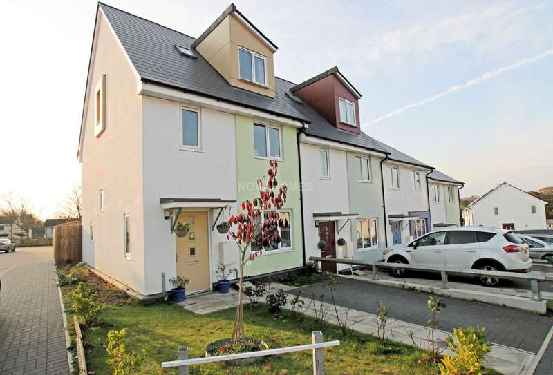 3 Bedrooms End Of Terrace House for sale in Notley Gardens, Ham, PL2 2EZ
