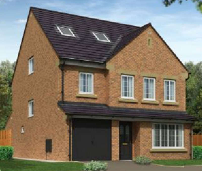 4 Bedrooms Detached House for sale in The Whiteside House Type, Rock Lea, Barrow-in-Furness LA13 9JS