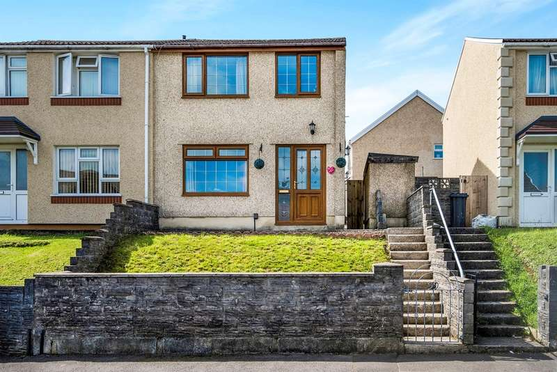 3 Bedrooms Semi Detached House for sale in Beacons View, Cimla, Neath