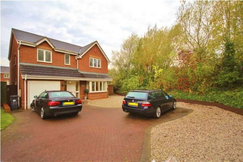 4 Bedrooms Detached House for sale in Bushy End, Leamington Spa, Warwickshire, CV34