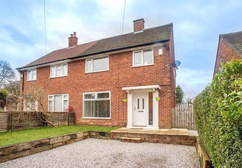 3 Bedrooms Semi Detached House for sale in Monkswood Green, Leeds, West Yorkshire, LS14