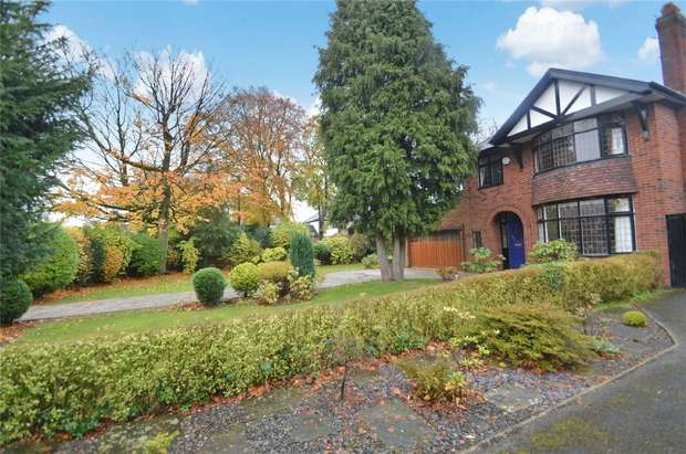 4 Bedrooms Detached House for sale in Bramhall Lane, Davenport, Stockport, Cheshire