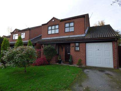 3 Bedrooms Detached House for sale in The Hollies, Sandiacre, Nottingham