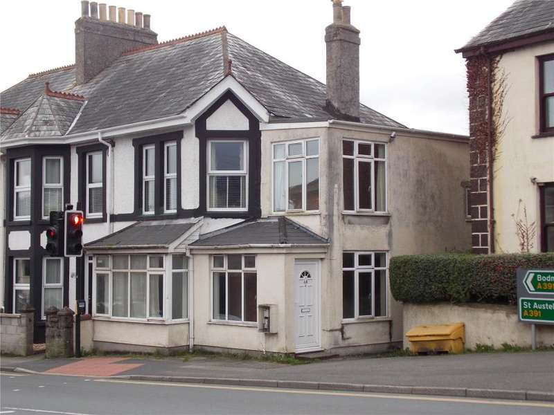 3 Bedrooms End Of Terrace House for sale in Fore Street, Bugle, Cornwall