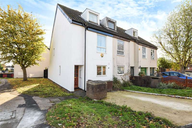 4 Bedrooms End Of Terrace House for sale in Hinkley Close, Harefield, Uxbridge, UB9