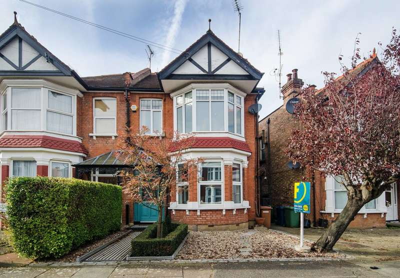 3 Bedrooms Semi Detached House for sale in Woodlands Road, Harrow, HA1