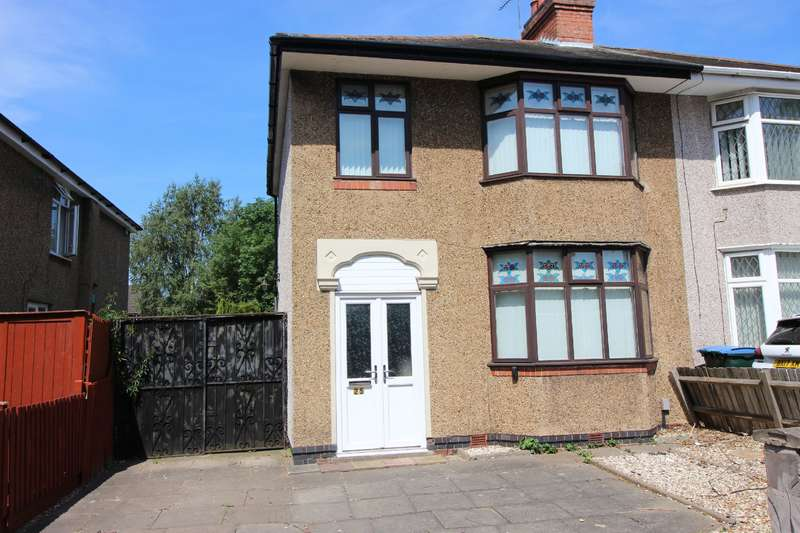 3 Bedrooms Semi Detached House for sale in Aldermans Green Road, Aldermans Green, Coventry, CV2