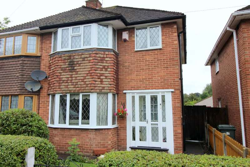 3 Bedrooms Semi Detached House for sale in Brookside Avenue, Whoberley, Coventry, CV5