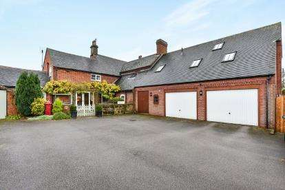4 Bedrooms Link Detached House for sale in Twyford Road, Twyford, Derby, Derbyshire