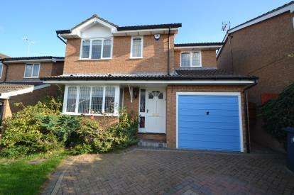 4 Bedrooms Detached House for sale in Haddon Close, Wellingborough, Northamptonshire
