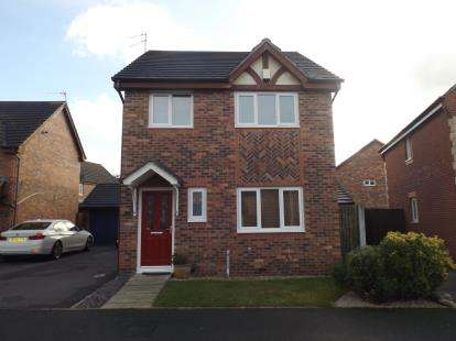 3 Bedrooms Detached House for sale in Brentwood Grove, Kirkby, Merseyside, Uk, L33
