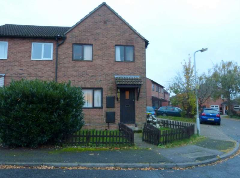 3 Bedrooms End Of Terrace House for sale in Rodgers Close, Borehamwood