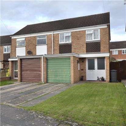 3 Bedrooms Semi Detached House for sale in Fieldcourt Gardens, Quedgeley, GLOUCESTER, GL2 4TY