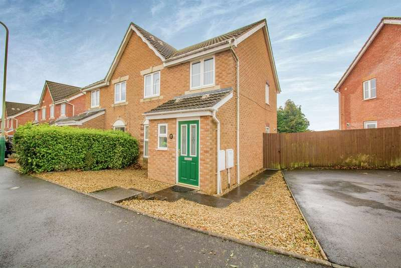 3 Bedrooms Semi Detached House for sale in Blaen Ifor, Caerphilly