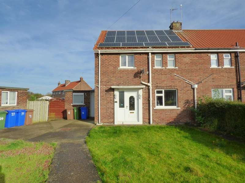 2 Bedrooms Semi Detached House for sale in Sample Avenue, Beverley, HU17 9DW