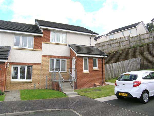 2 Bedrooms Semi Detached House for sale in Glenlyon Place, Rutherglen, Glasgow