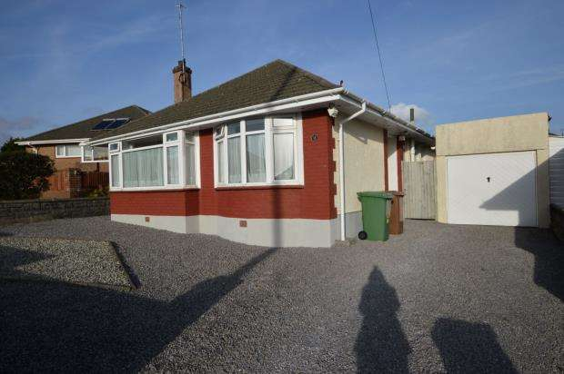 2 Bedrooms Detached Bungalow for sale in Furzehatt Park Road, Plymouth, Devon