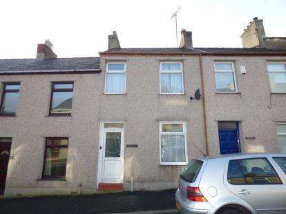 2 Bedrooms Terraced House for sale in Edward Street, Twthill West, Caernarfon, Gwynedd, LL55