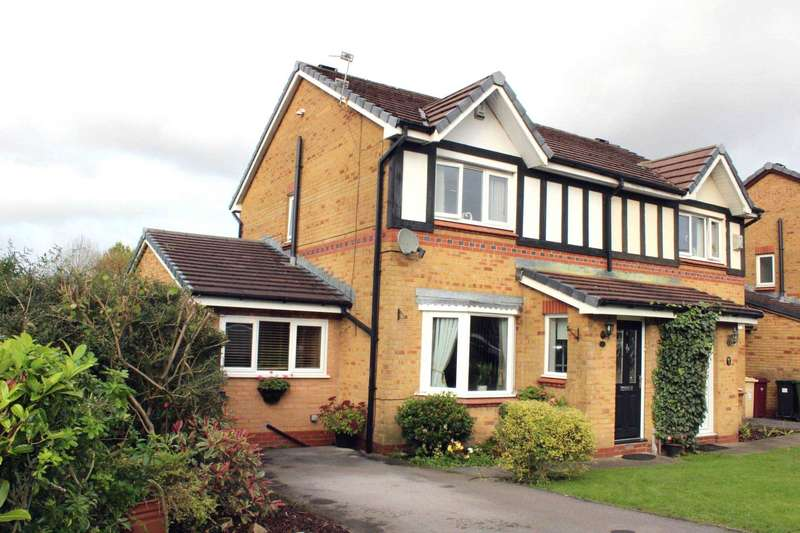 3 Bedrooms Semi Detached House for sale in Knightswood, Beaumont Chase