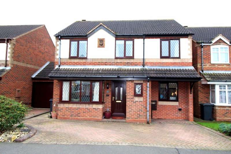 4 Bedrooms Detached House for sale in Belcher Close, Heather, Coalville, LE67