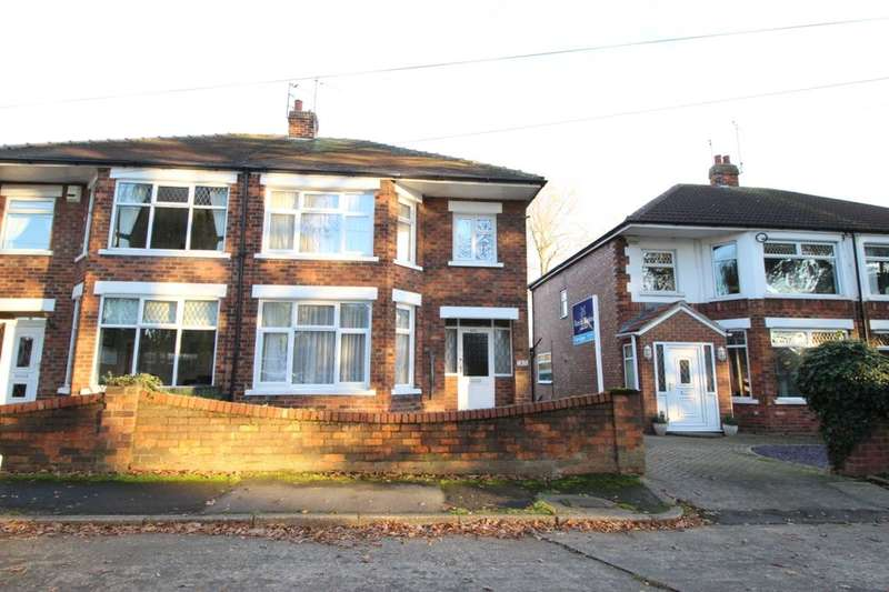 3 Bedrooms Semi Detached House for sale in Ings Road, Sutton-On-Hull, Hull, HU7