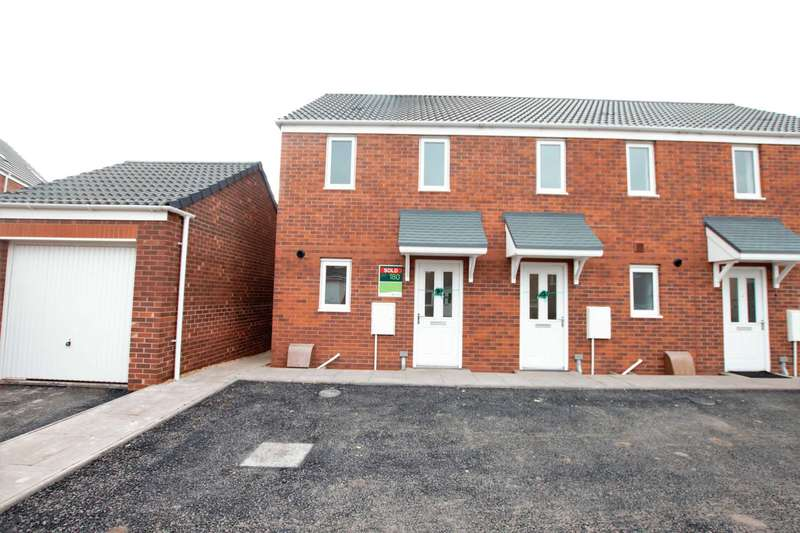 2 Bedrooms Semi Detached House for rent in Usworth Close, Wolverhampton