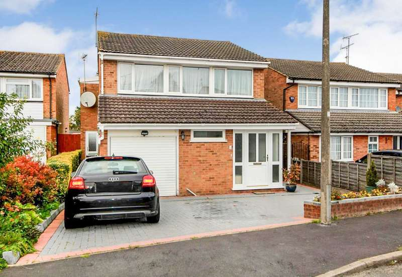 4 Bedrooms Detached House for sale in EXTENDED WELL PRESENTED 4 BED DET FAMILY HOME. CUL-DE-SAC LOCATION