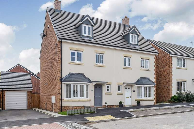 4 Bedrooms Semi Detached House for sale in Dyffryn Y Coed, Church Village, Pontypridd