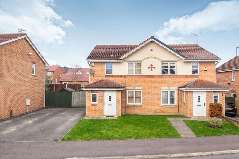 3 Bedrooms Semi Detached House for sale in Crown Way, Langley Mill, Nottingham, NG16